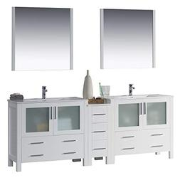 """BLOSSOM 001-84-01-D Sydney 84"""" Double Vanity Set with Mirror"""