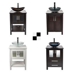 24 bathroom vanity single cabinet counter top