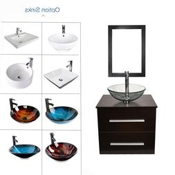 24 bathroom vanity wall mount floating cabinet