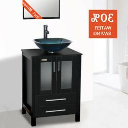 Eclife Sales Promotion 24'' Modern Bathroom Vanity And S