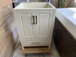 "24"" Test Single Bathroom Vanity Cabinet Raised Panel Off W"
