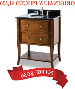 "28-1/2"" Bathroom Vanity by Jeffrey Alexander - Wood Vanities"