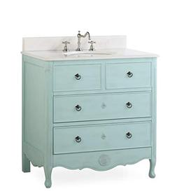 "34"" Cottage look Daleville Bathroom Sink vanity Model HF08"