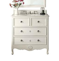 "34"" Cottage look Daleville Bathroom Sink vanity- HF081AW"