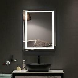 "36"" x28""H LED Bathroom Makeup Vanity Mirrors with Light Bulb"