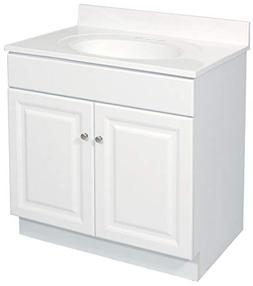 Wyndham 24 Double Door Vanity Base, Free-standing, Single, 2