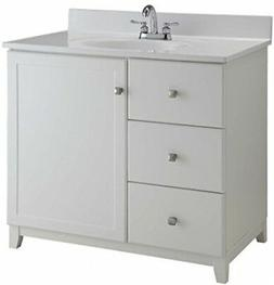 Design House 547141 Furniture-Style Vanity Cabinet, 30 21-in