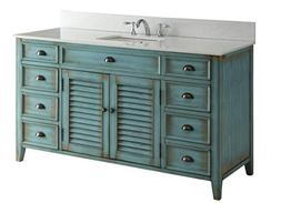 "60"" Cottage look Single Sink Abbeville Bathroom Sink vanit"