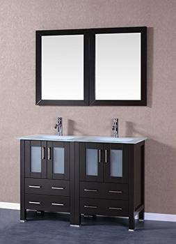 "Bosconi A224EWGU 48"" Free Standing Vanity Set with Wood Cabi"