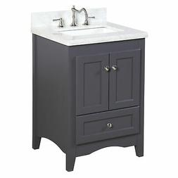 "Kitchen Bath Collection Abbey 24"" Single Bathroom Vanity Set"