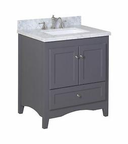 "Kitchen Bath Collection Abbey 30"" Single Bathroom Vanity Set"