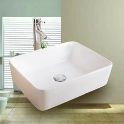 Bathroom Ceramic Vessel Sink Basin Bowl Porcelain Bath With