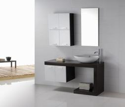 Bathroom Vanity - Modern Bathroom Vanity Set - Single Sink -