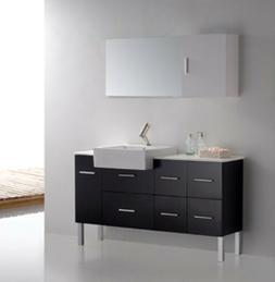 Bathroom Vanity - Modern Bathroom Vanity Set-Single Sink Loz