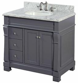 "Kitchen Bath Collection Bella 36"" Single Bathroom Vanity Set"