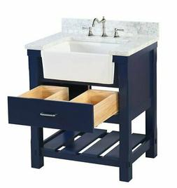 "Kitchen Bath Collection Charlotte 30"" Single Bathroom Vanity"