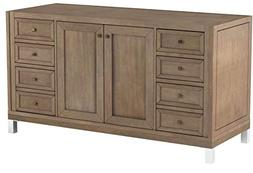 "James Martin Chicago 60"". Single Bathroom Vanity"