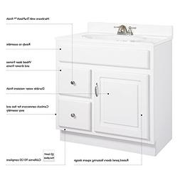 Concord Vanity Cabinet w 2 Drawers
