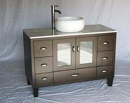 Chinese Arts, Inc 46-Inch Contemporary Style Single Sink Bat