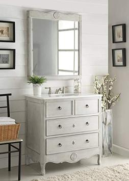 "34"" Benton Collection Cottage look Daleville Bathroom Sink"