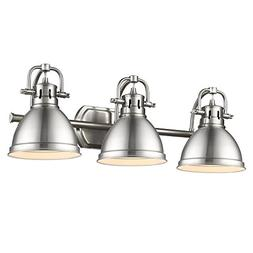 duncan wide pewter 3 light