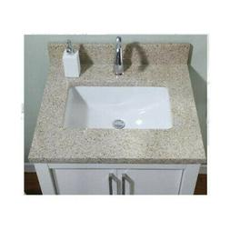 Empire Industries Euro Granite Single Bathroom Vanity Top