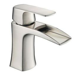Fresca Fortore Single Hole Bathroom Vanity Faucet in Brushed