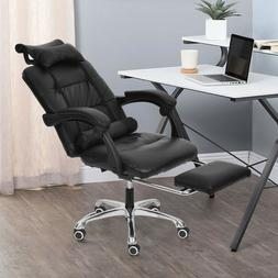 Gaming Chair Ergonomic High-Back Adjustable PU Leather Offic