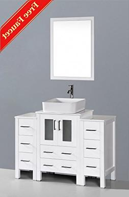 "48"" Bosconi GAW124RC2S Single Vanity"