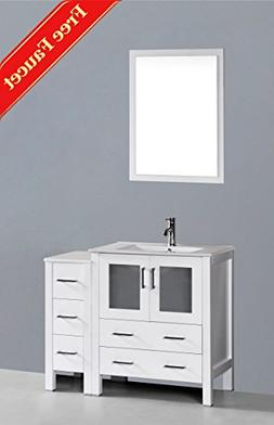 "42"" Bosconi GAW130U1S Single Vanity"