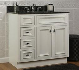 jsi danbury white bathroom vanity base 36