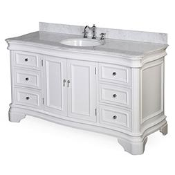 Kitchen Bath Collection KBC-A601WTCARR Katherine Single Sink