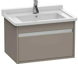 Duravit KT666304343 Ketho Wall Mounted Vanity Unit in Bassal
