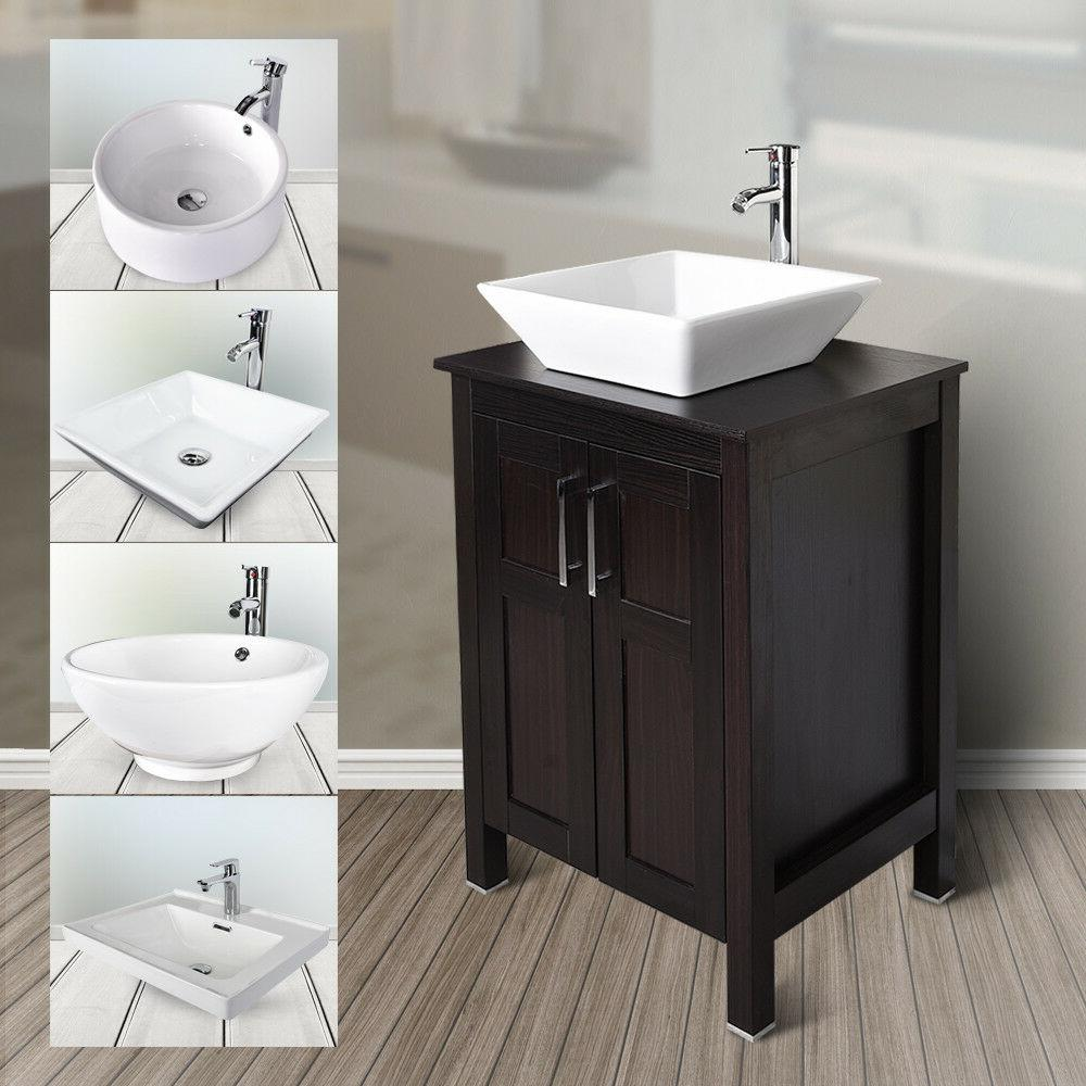 24 bathroom vanity floor cabinet single vessel