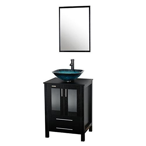 Eclife 24 Modern Bathroom Vanity And Sink Combo