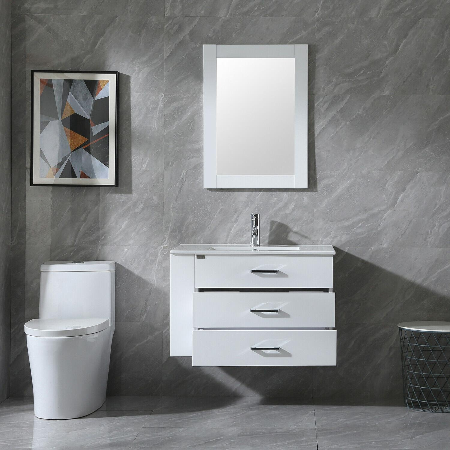 """32"""" Wall Cabinet with Combo Faucet"""