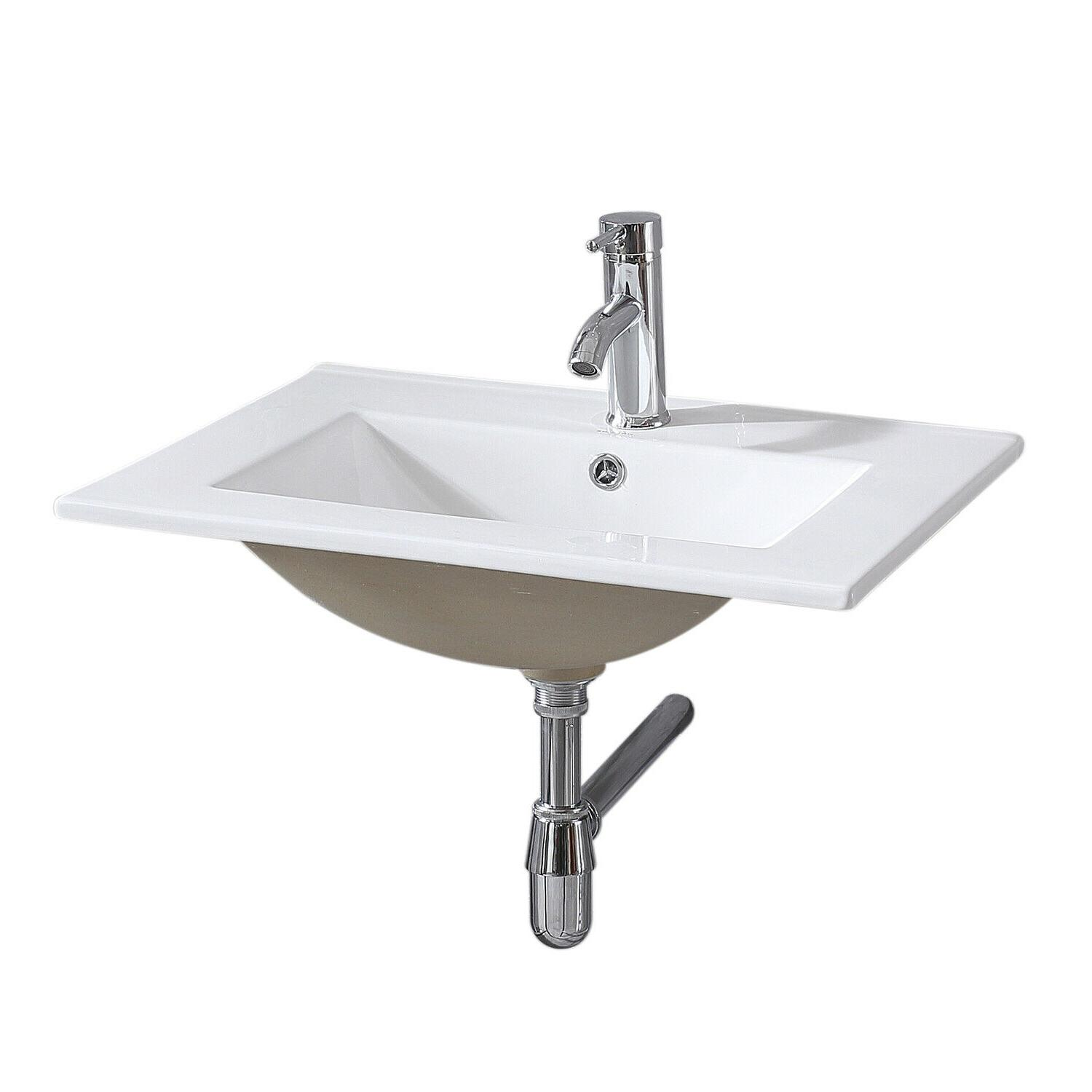 "32"" Set Wall Mounted with Sink Faucet"
