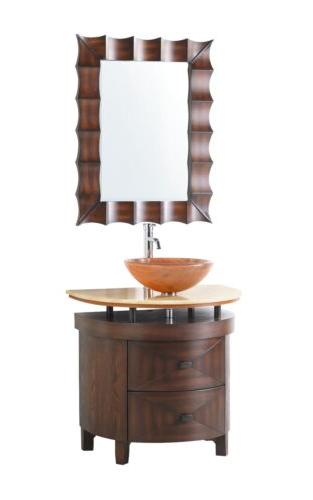 "32"" Collection Colonial Wood Bathroom Vanity"