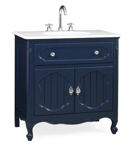 "34"" Collection Navy Vanity GD-1533NB"