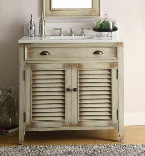 "36"" Benton Bathroom Sink Vanity Mirror"
