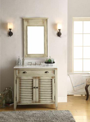 "36"" Benton Bathroom Sink Vanity with Mirror CF-28324-MIR"