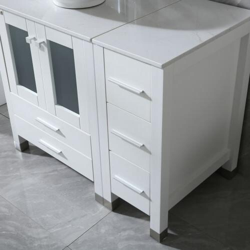 """36"""" Vanity with Sink Faucet and Mirror New"""