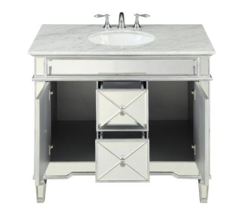 "40"" Benton Collection Adelia Bathroom & Ramsey Mirror"