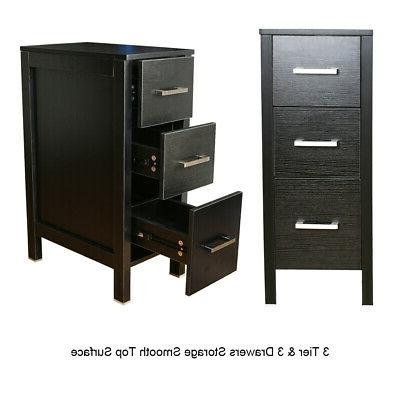 """60"""" Vanity Mirror Double Faucet Side Cabinet Combo"""