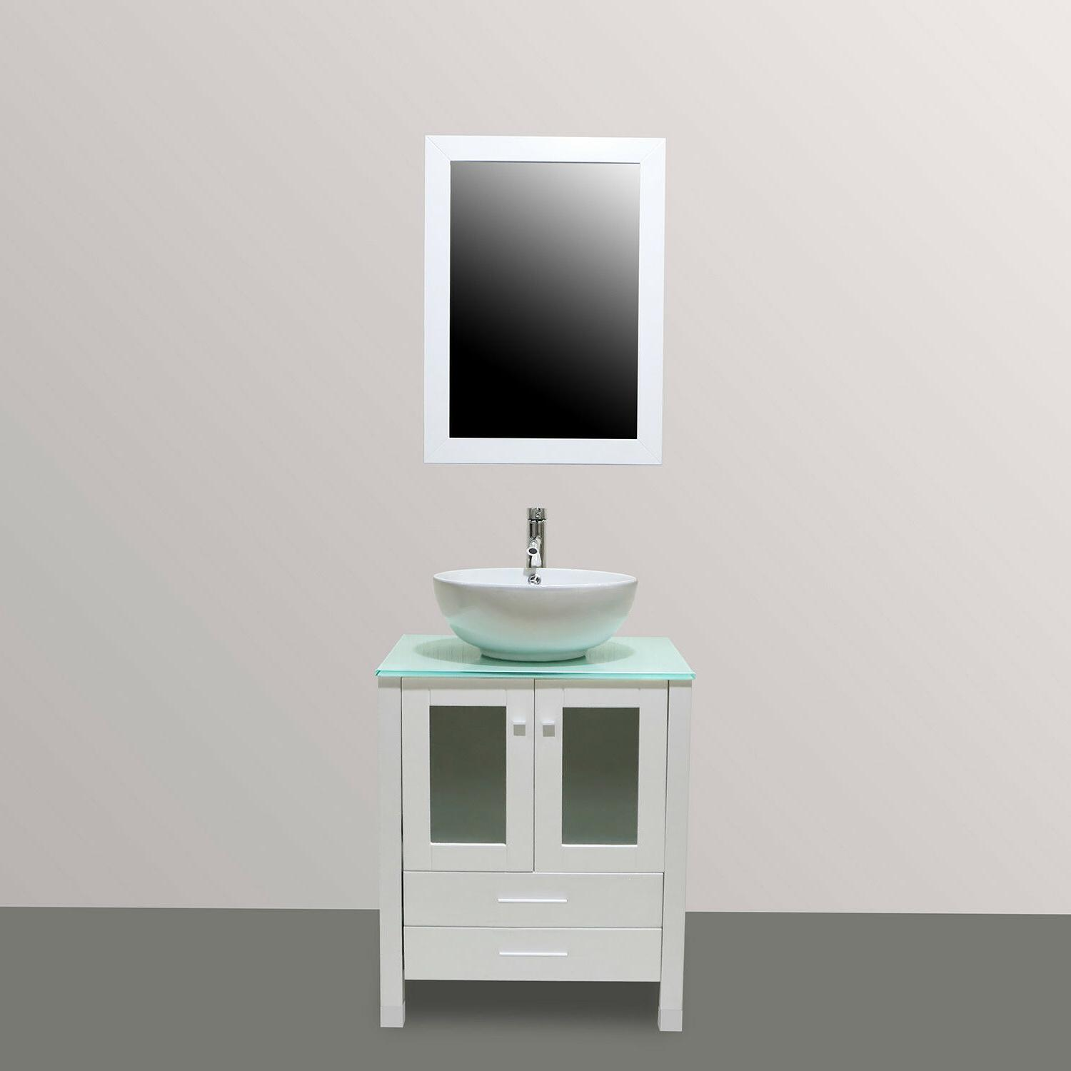 48-inch Vanities Double Cabinets Ceramic Sinks