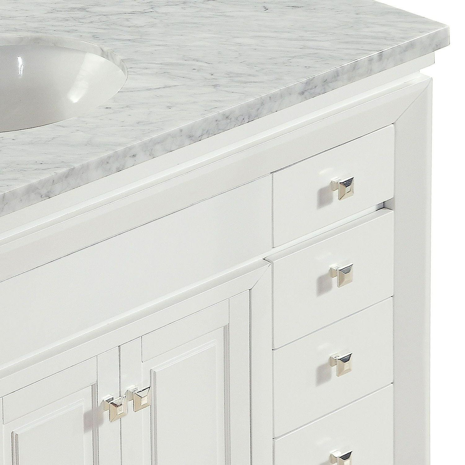 48-inch Marble Top Single Cabinet 0318W