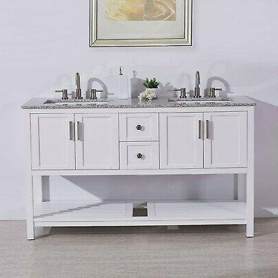 60 natural stone top single single sink