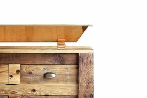 "60"" Wood Apothecary Chest Bath Vanity w/"