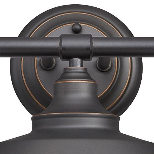 Westinghouse Oil Rubbed Bronze with Highlights Metal Shades