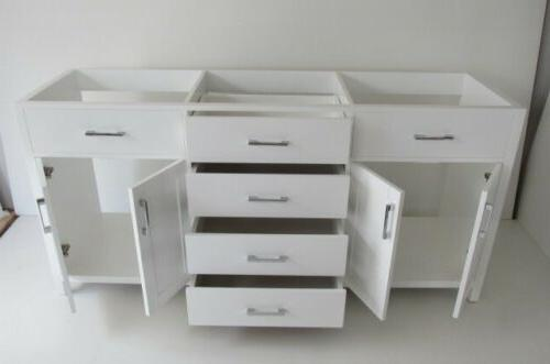 """72"""" Double Sink Cabinet"""